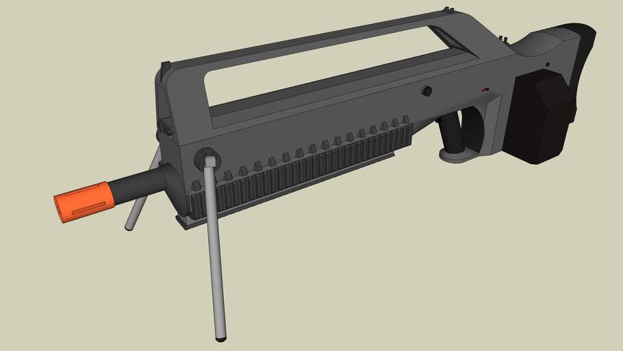 R-4B Airsoft Fire Suppression Rifle