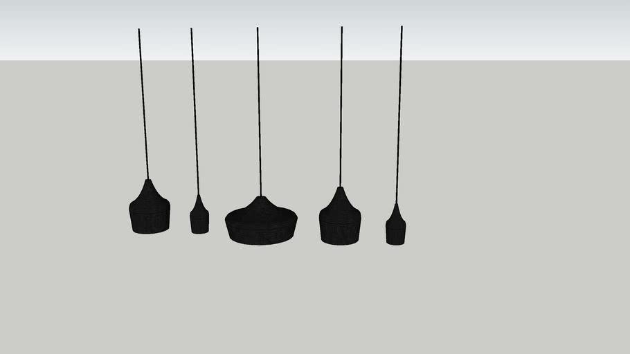 Set hanglampen