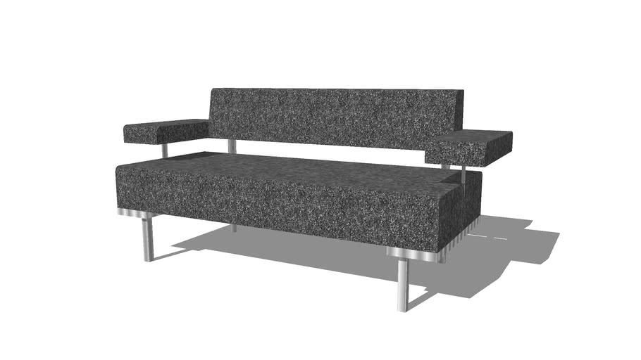 ZENTRUM sofá de 2 plazas