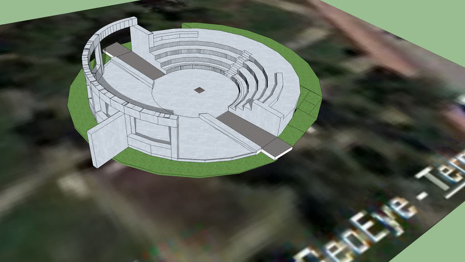 Taygetou Square amphitheater