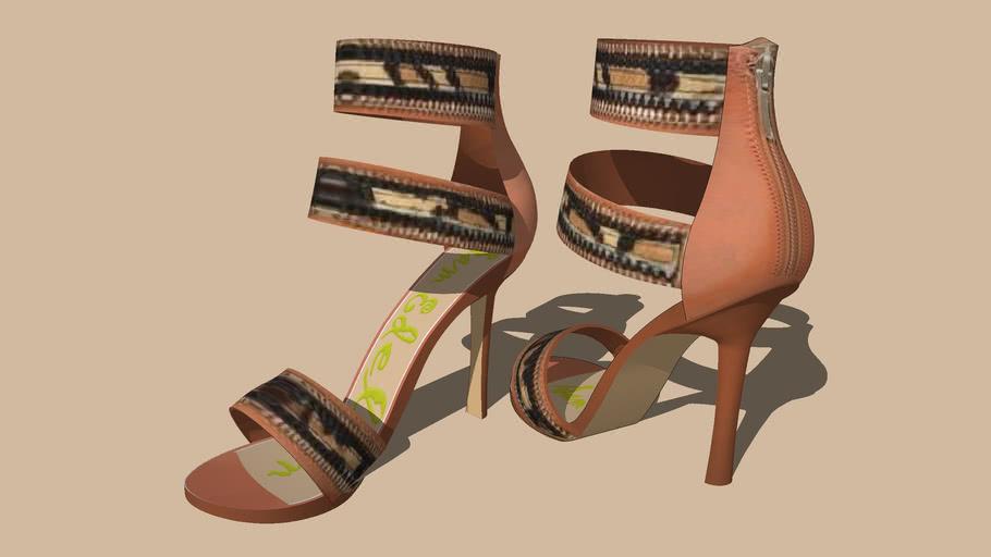 """""""SAM EDELMAN""""... Zip Fastener Heel's ... 1 of 5 Colours...."""