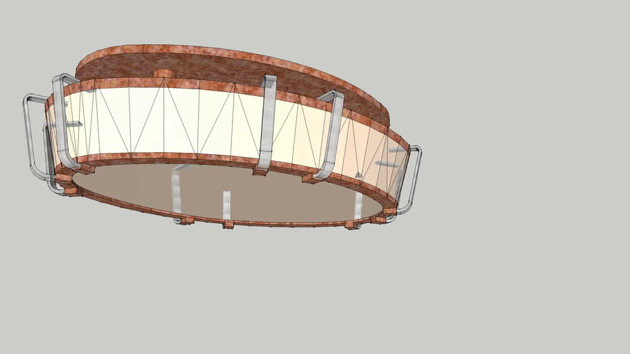 Oval Light Fixture