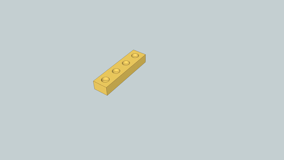 4 hole tie block