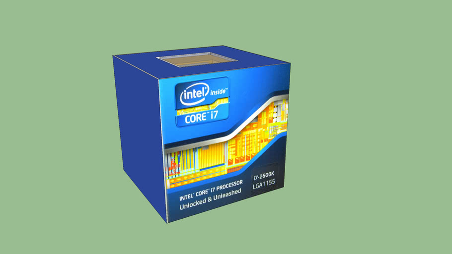 Intel i7 2600k in box