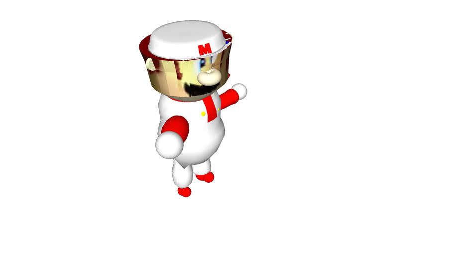 64 NES Fire Mario