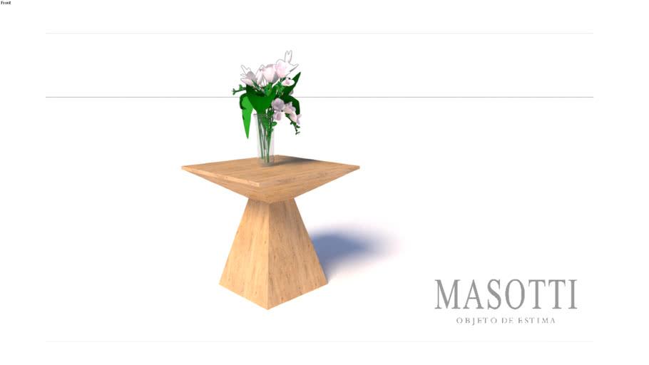 Mesa Auxiliar Coleção Masotti Ref MAS.289.0 F15(3)