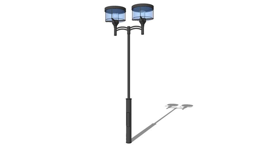 Уличный фонарь Перспектива 2 лампы / Streetlights Perspective 2 lamps