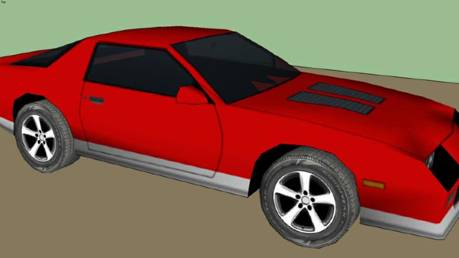 Sketchyphysics Chevy Camaro IROC-Z.
