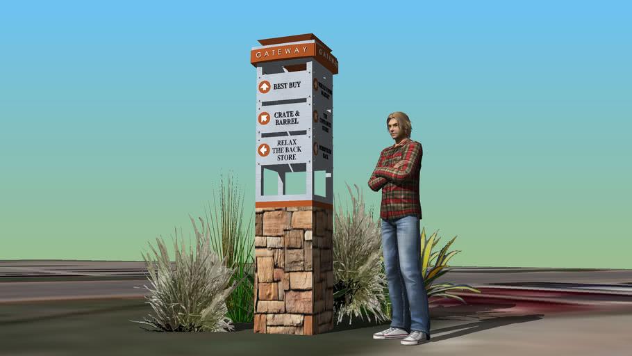 Gateway directional / Austin, Tx