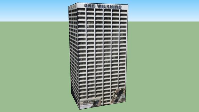 Zgrada u Los Angeles, Kalifornija, Sjedinjene Američke Države