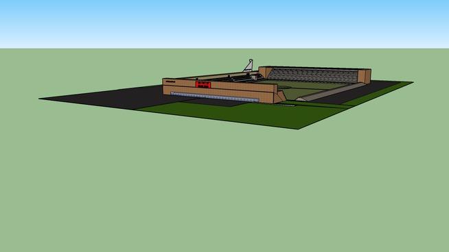 Projekt nowego stadionu Iskry Białogard