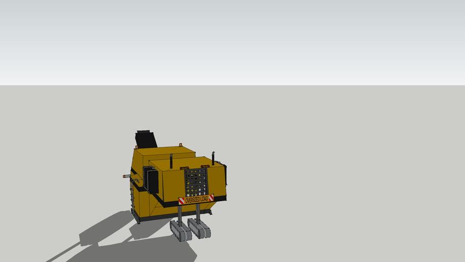 road milling machine