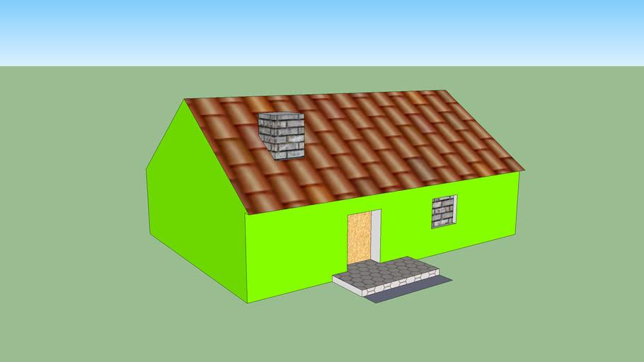 Casa sencilla para sencilla