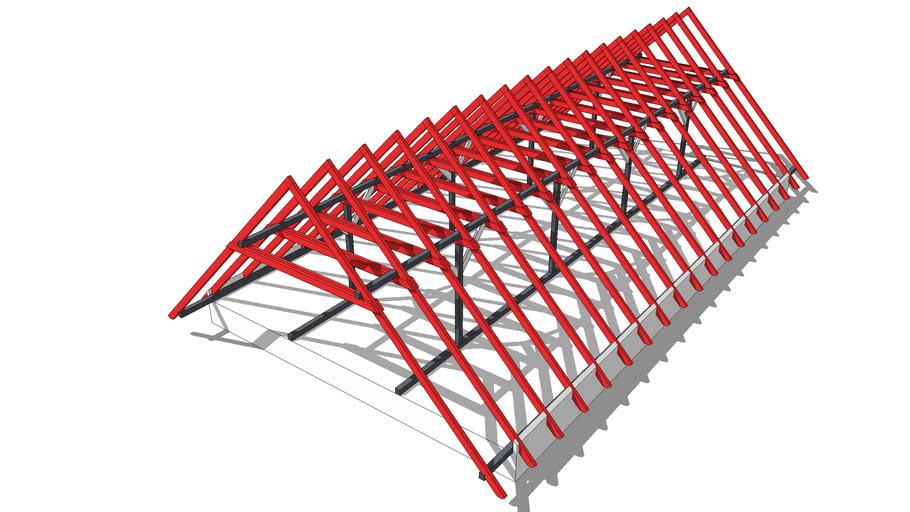 BiMUp 5D - Timber Roof 01