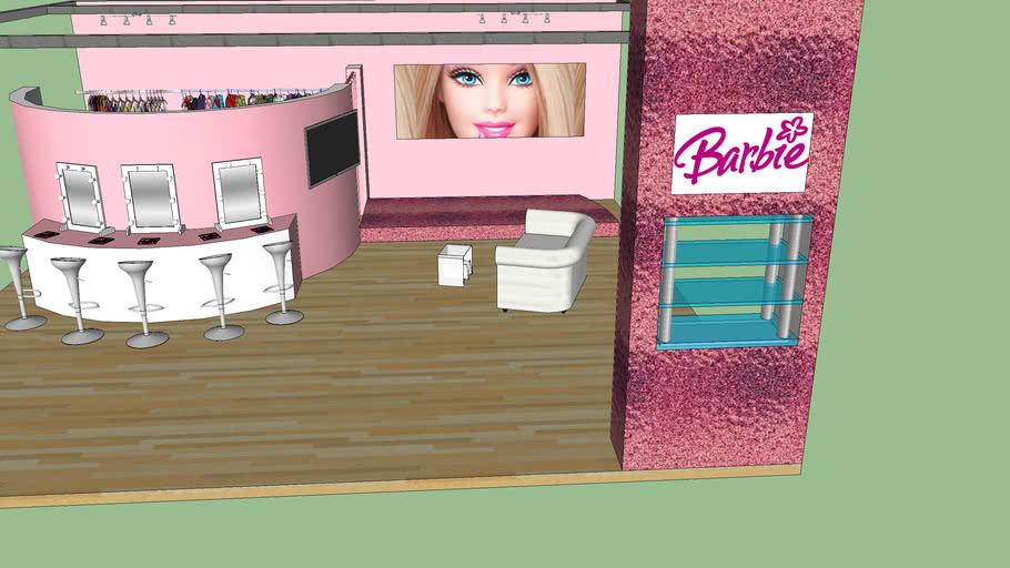 Stand Barbie