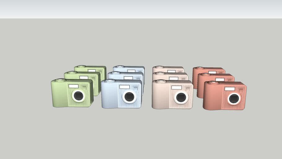 Polaroid cameras 4x