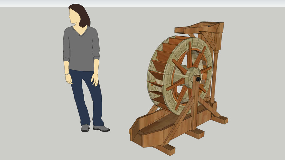 Electric Water Wheel