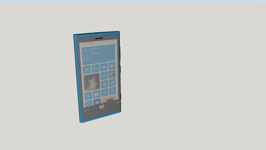 Lumia 920 - cyan -  German Version - 3rd ver.