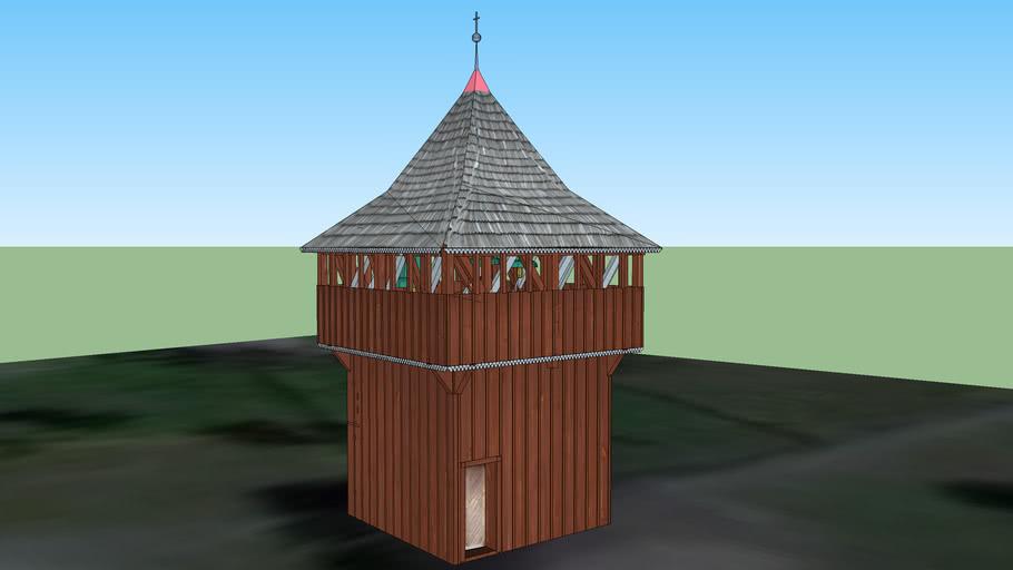 Kościół Wniebowzięcia Najświętszej Maryi Panny w Kurzelowie - dzwonnica przykościelna