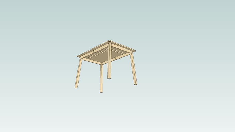 Ikea Table A Rallonge 3d Warehouse