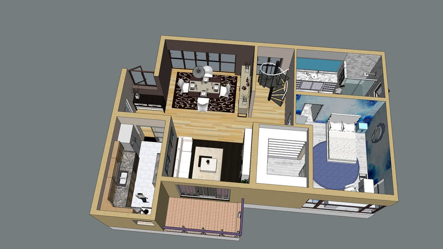 Apartman interior 2