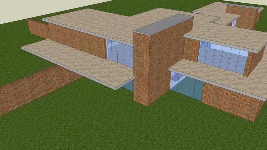 Brick Country House Mies Van Der Rohe