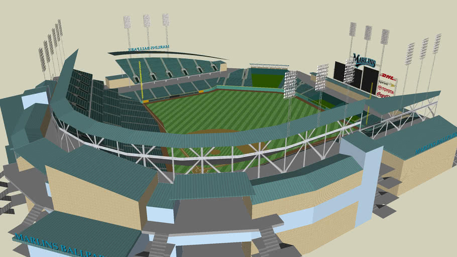 Florida Marlins Concept Ballpark