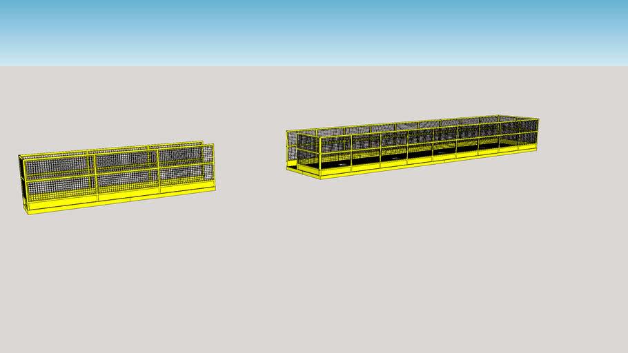 plataforma - guarda corpo NR 12