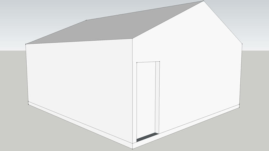 2-car garage 22x24 detached
