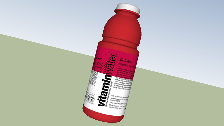 Vitamin Water Bottle