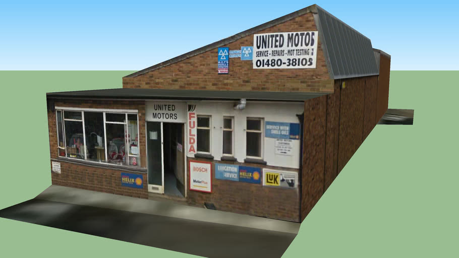 United Motors, Huntingdon, Building 5 of 6