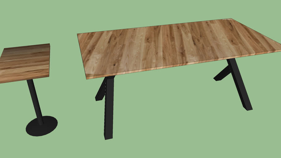 coffeeshop dining table