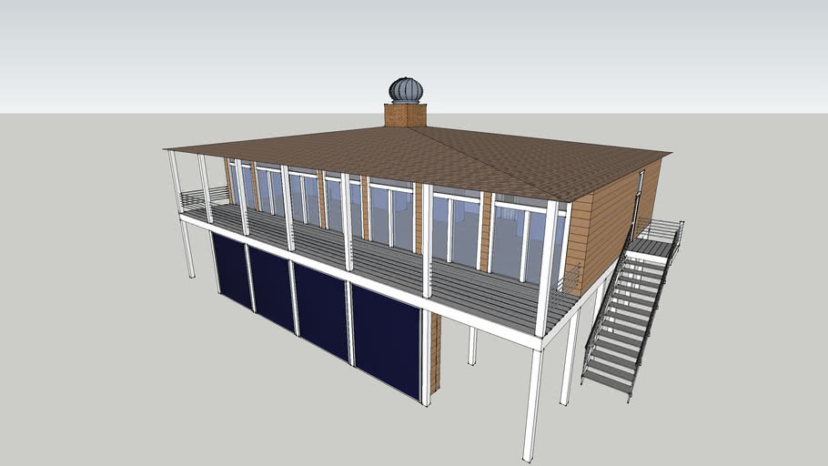 Passive Solar Home 02: Beach House
