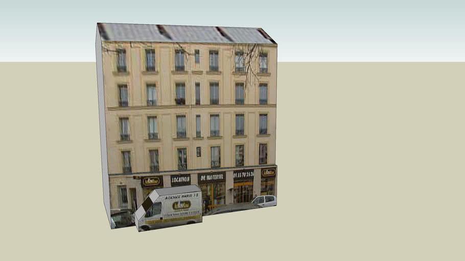 Immeuble à Paris (Porte de Vincennes)