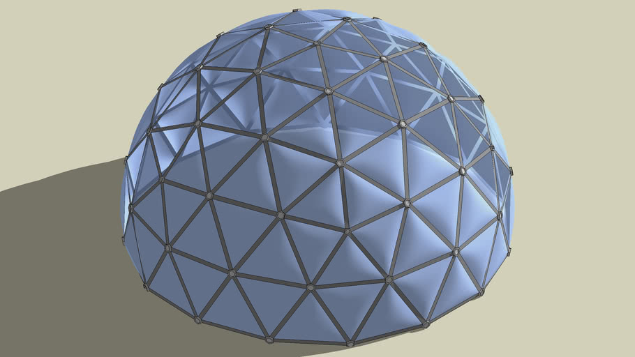 Geodesic Pillow Dome