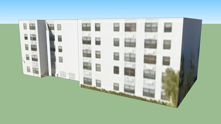 Apartment Building in Miami, FL, USA