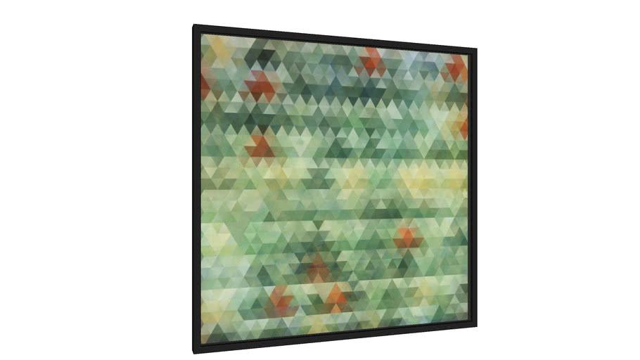 Quadro Composição Abstrata 603 - Galeria9, por Estevez