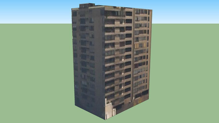Building in Colon, Santiago, Chile
