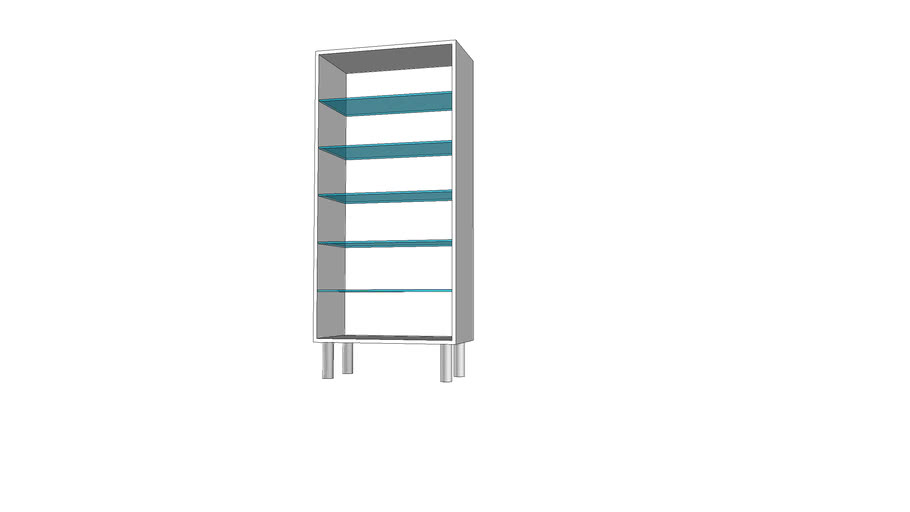 Cabinet 6 80x140x40