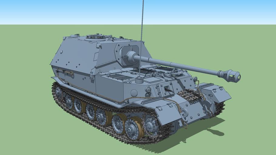"Sd Kfz 184 ""ELEFANT"""