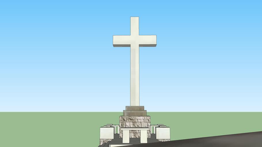 Križ na brdu Srđ