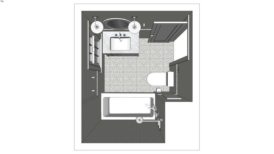 1920 house bathroom remodel