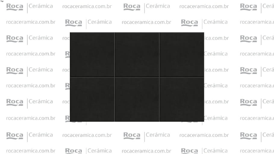 ROCA - RV PURE BLACK MT 21,5X21,5