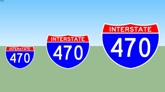 Interstate 470 Sign