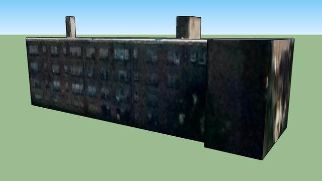 Κτίριο σε Cleveland, Οχάιο, Ηνωμένες Πολιτείες της Αμερικής