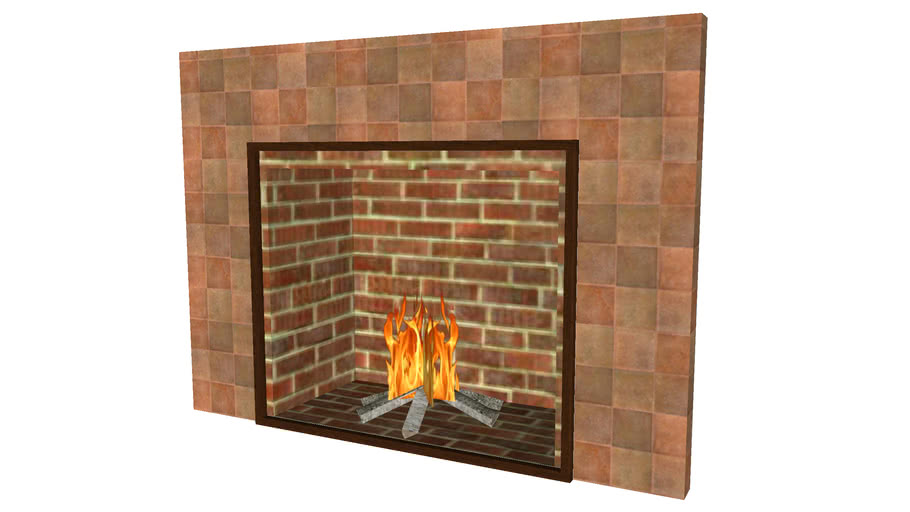 Fireplace 3ftx2ft6in - Detailed