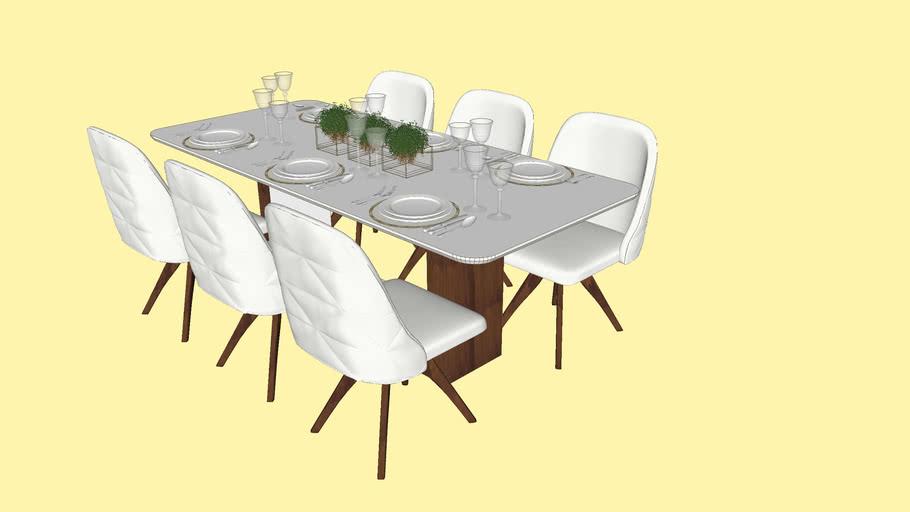 Mesa de Jantar - 6 Lugares