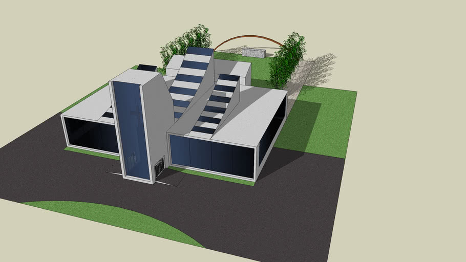 Modern Church 3d Warehouse