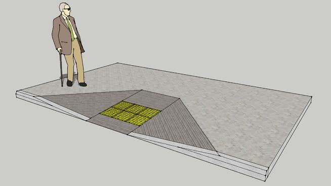 PWD Curb Cut