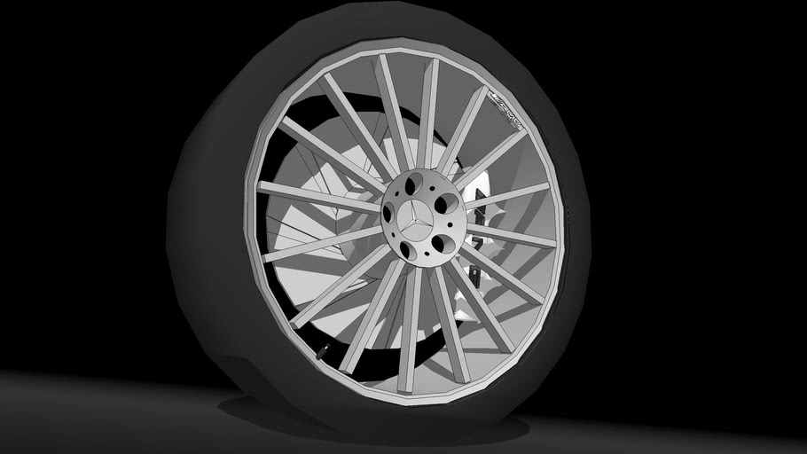 AMG Styling V Wheel